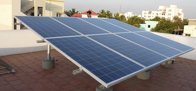 Solar power system in Nizamabad