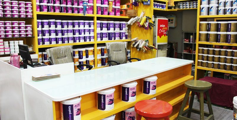 Paint and hardware in Khammam
