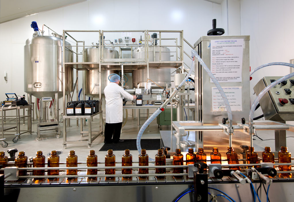 pharmaceutical manufacturing industry